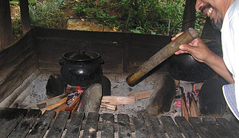 Dapur Kayu The Firewood Stove Kind Of Our Pas During Time They Were Bringing Us Up From A Baby To Boy Youngster